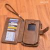 محفظة كانجرو جلد طبيعي  محفظة للاموال والموبايل محفظة جلد للرجال محفظة يد محفظة رجال الاعمال
